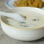 Congee with Pork and Century Eggs 皮蛋瘦肉粥