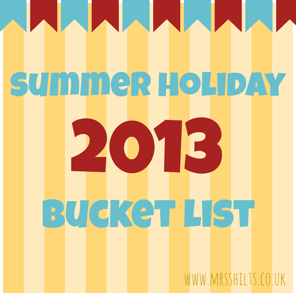 summer holiday bucket list badge