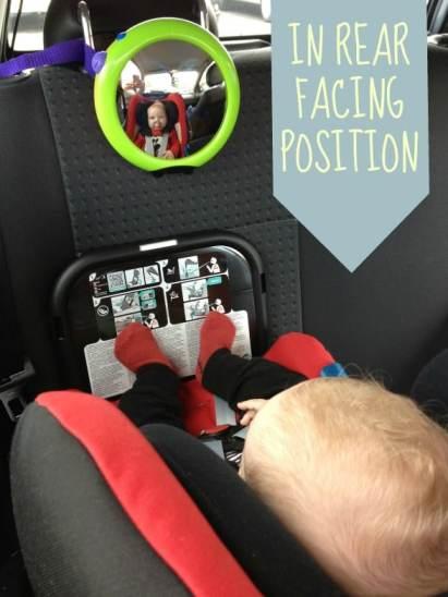 REAR FACING BABY-SAFE PLUS SHR II