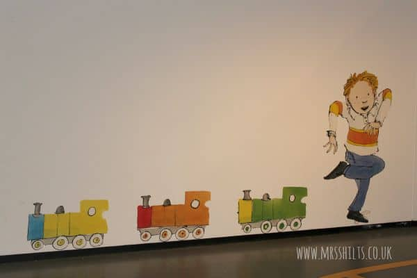 Sam Usher Playing Trains NRM