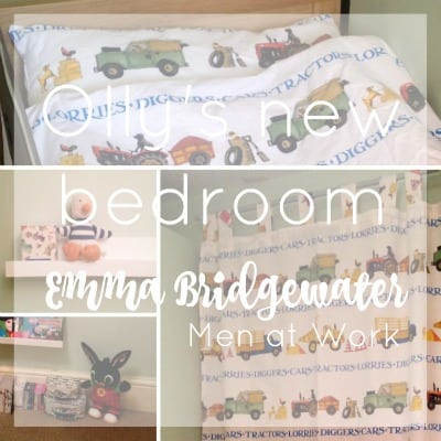 Emma Bridgewater Men at Work toddler room