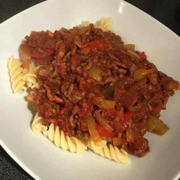 Synfree Spaghetti Bolognese