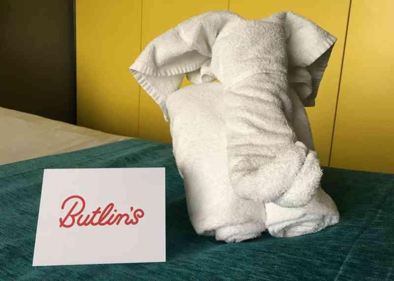towel elephant Butlins Bognor Regis