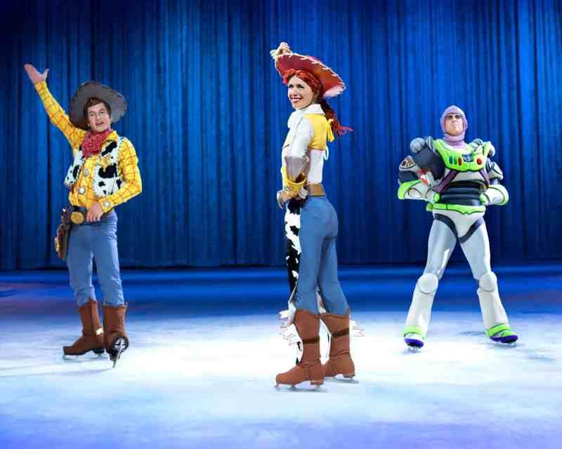 Disney On Ice Woody Buzz Jessie