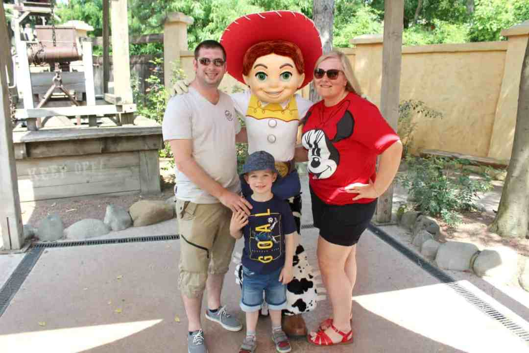 Meeting Jessie June Me and Mine