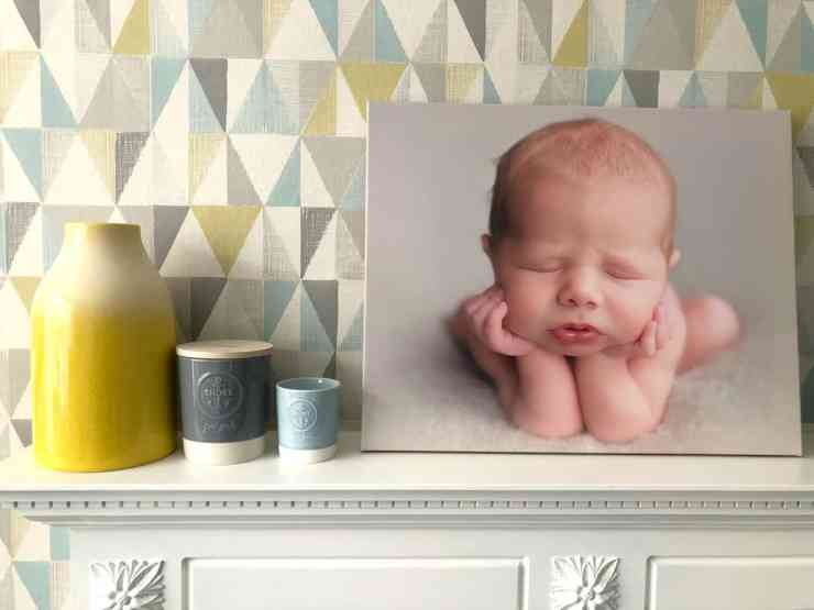 Canvas Champ Newborn Photo Interiors