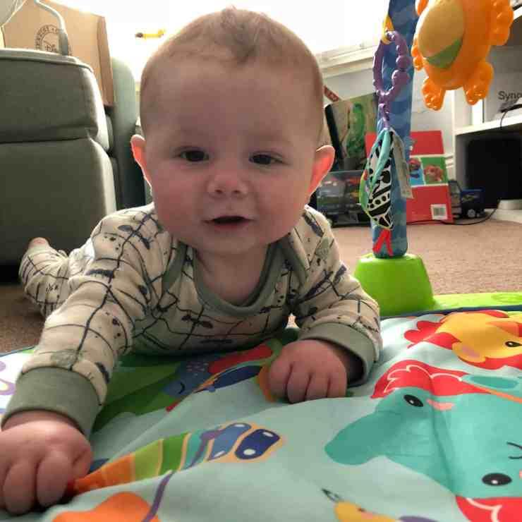 Freddie five months