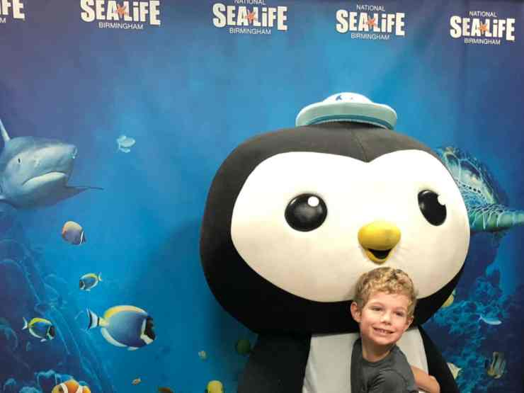 Peso Octonauts Sea Life Birmingham