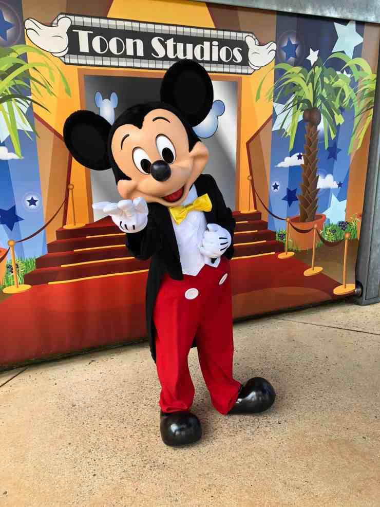 Mickey Mouse Walt Disney Studios at Disneyland Paris