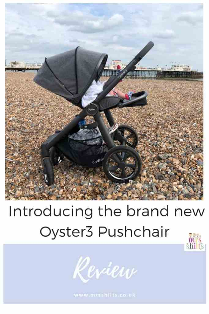 Oyster3 Pushchair review