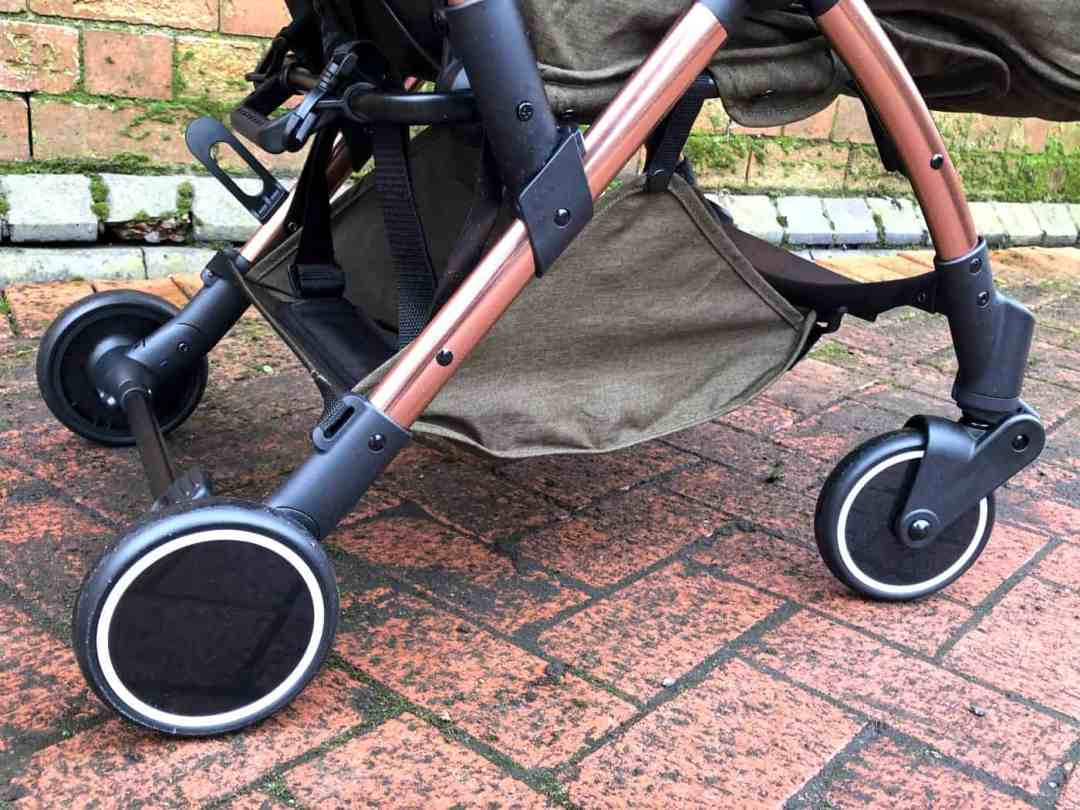 Icklebubba Globe Max Stroller Khaki Rose Gold