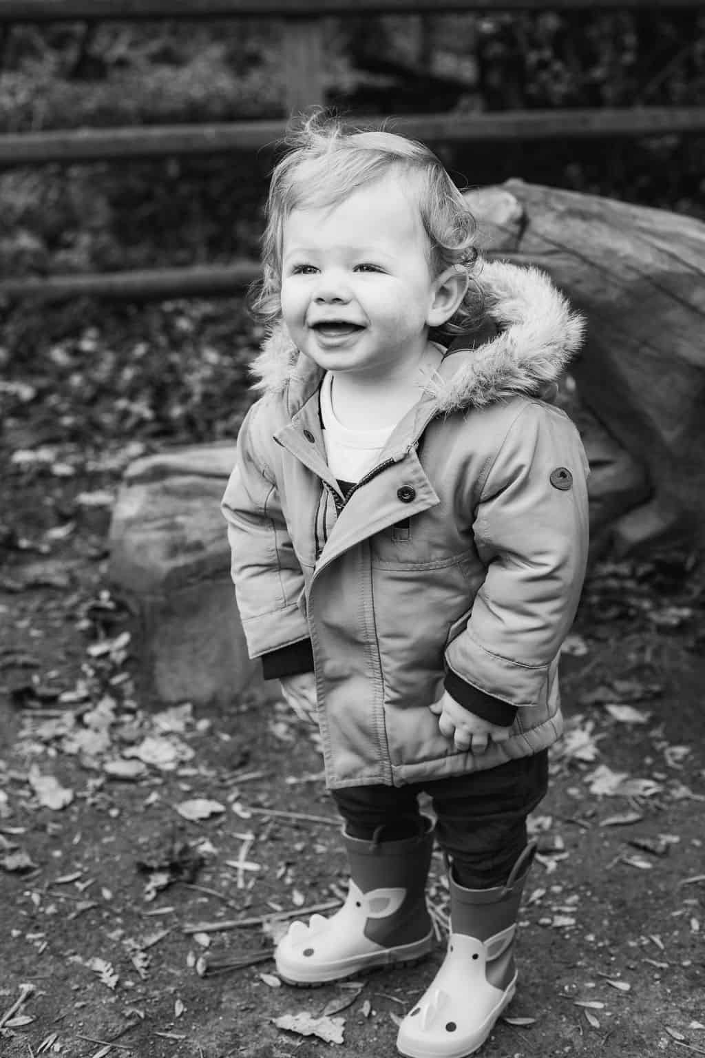 Toddler Woods Wellies Smiles