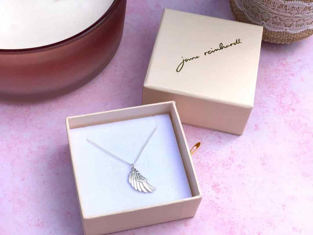 Jana Reinhardt wing necklace sterling silver