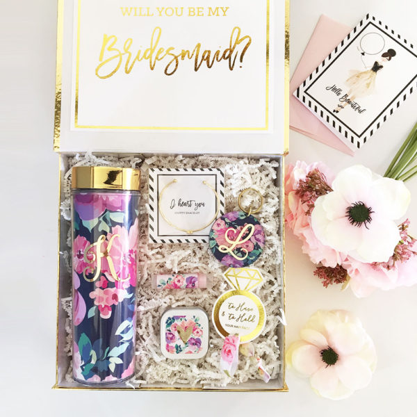 Bridesmaid Proposal Gift Box Personalized Bridesmaid Gift Box