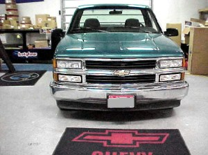 Question  1995 1500 WT grilleheadlight swap? | Chevy