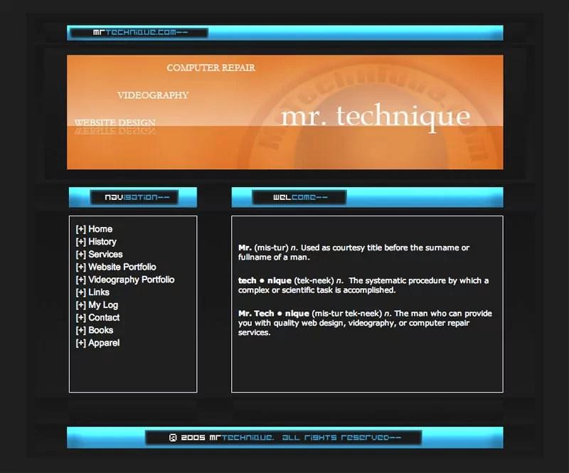 mrtechnique-web-design-2005