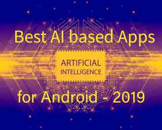 Best AI-based Apps for Android 2020