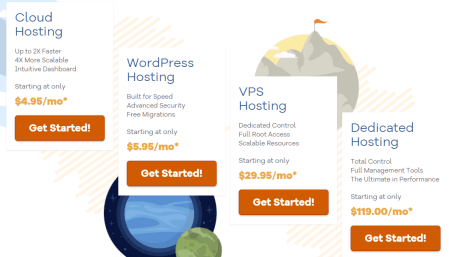 HostGator WebHosting plans
