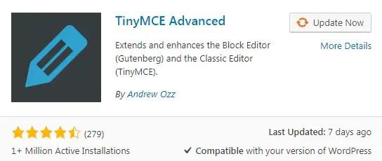 TinyMCE Best WordPress Plugins