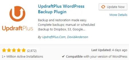 UpDraft Best free WordPress Plugins