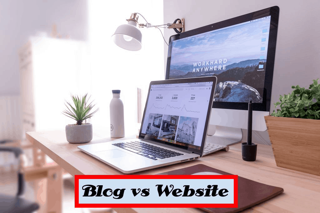 Difference Between Blog and Website: How both are different?