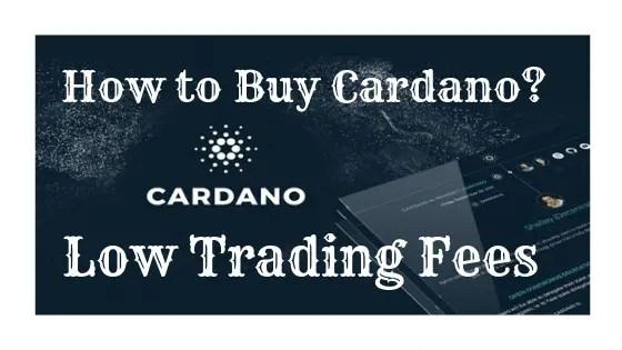 How to Buy Cardano (ADA)