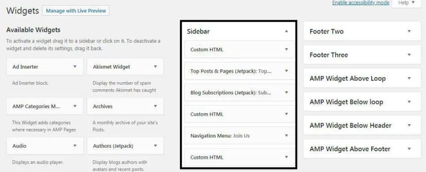 Custom Widget with WordPress