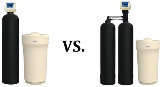 Best Water Softener - Single Cylinder Vs Twin Cylinder