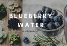 The Beneficial SIDE EFFECTS of Blueberry Detox Water