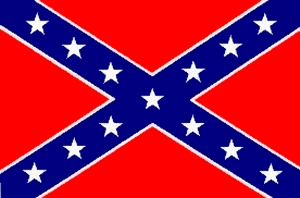 Confederate flag.