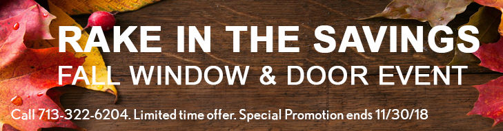 window and door sales event