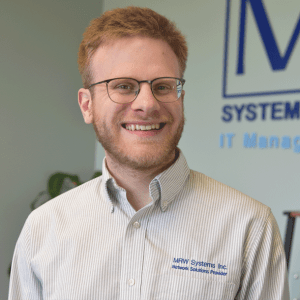 Isaac working at MRW Systems
