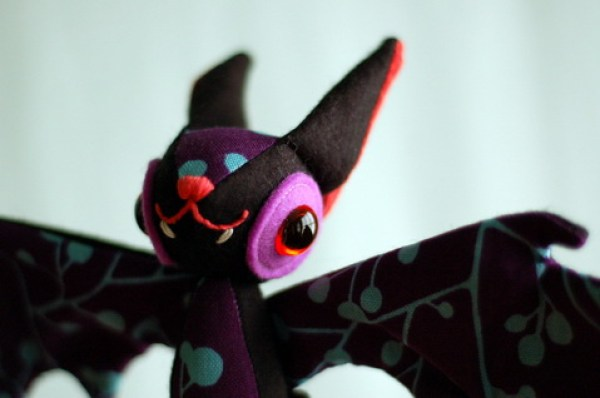 bat plush by m_soto
