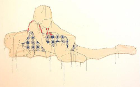 Sybille Hotz's Anatomical Embroideries