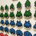 Space Invaders Magnets by Sarasvati