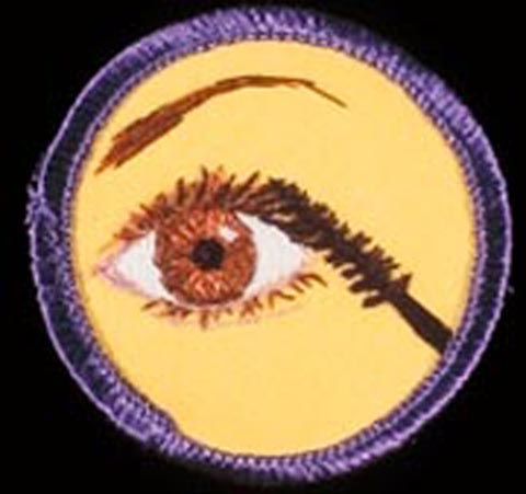 Mary Yaeger Merit Badge - Mascara