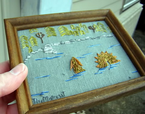 Craftster Pick of the Week – TheMistressT's Nessie
