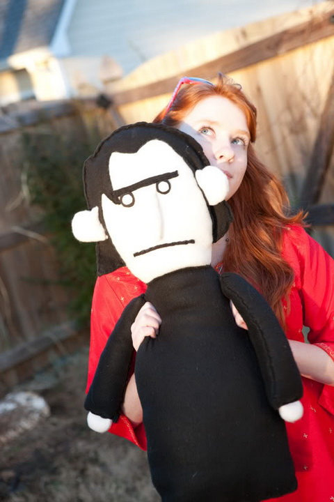 Craftster Pick of the Week – Snape Puppet Pal by Irishdaydreamer