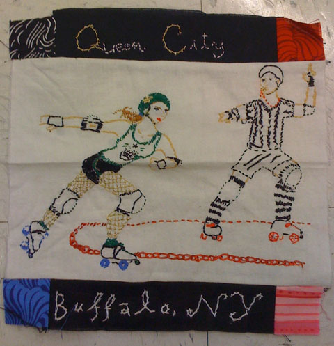 The Cutting (& Stitching) Edge – The Roller Derby Quilt