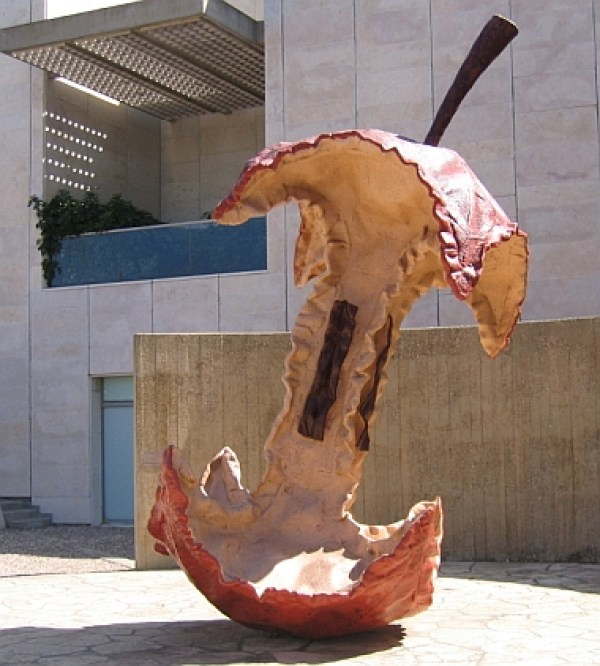Claes Oldenburg Apple Core Sculpture