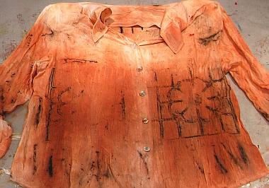 Kimberley Baxter Packwood - Rusted Fabric