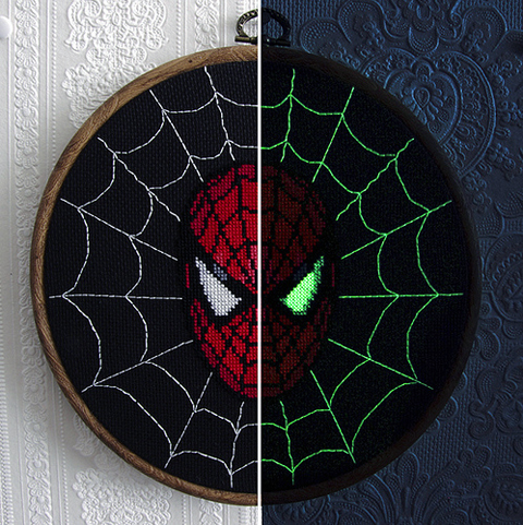 Craftster Pick of the Week – stitchFIGHT's Spiderman