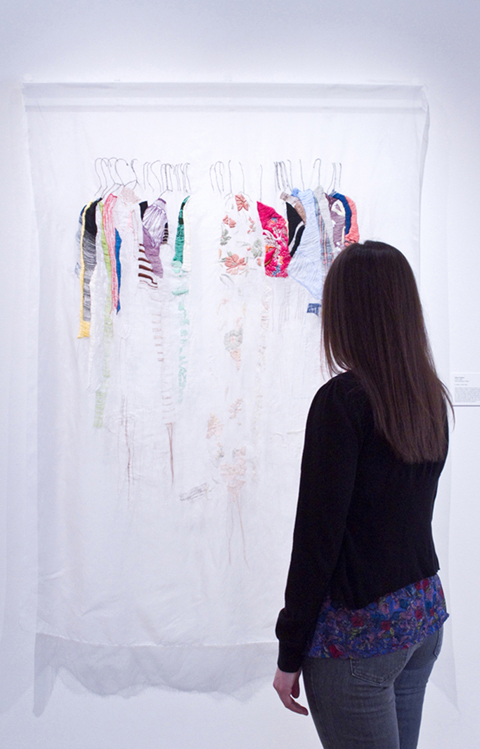 Allison Watkins - My Closet in San Francisco hand embroidery