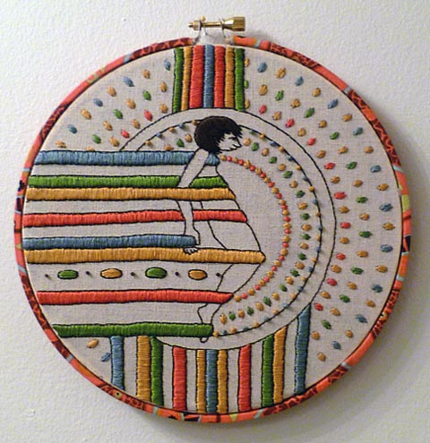 Craftster Pick of the Week – Mel Kadel embroidery