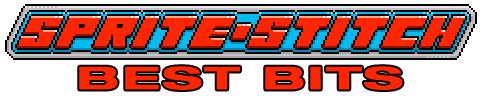 Sprite Stitch Best Bits - the best video game cross stitch from Mr X Stitch!