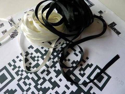 Trekky's Woven QR code