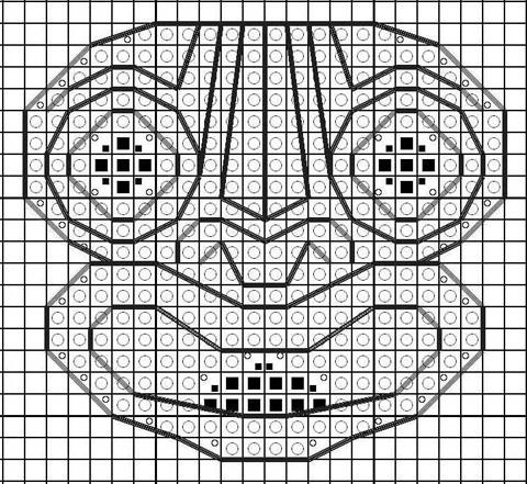 Stitchalicious' free Kiaora cross stitch pattern