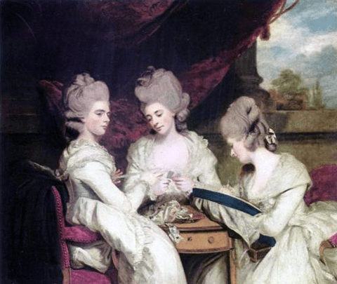 The Ladies Waldegrave by Joshua Reynolds