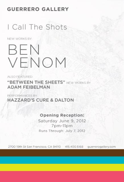 Ben Venom show at Guerrero Gallery