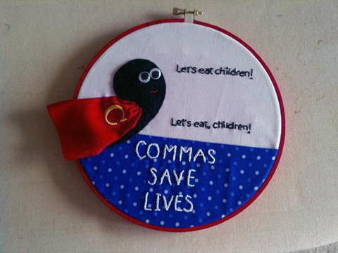 Commas Save Lives by Kaz814